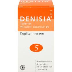 DENISIA 5 Kopfschmerzen Tabletten 80 St.