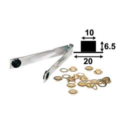 Veto 7558 Ösenzange mit 12 Ösen 10 mm