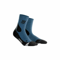 CEP OUTDOOR MERINO MID CUT SOCKS MEN Farbe: desert sky / black V