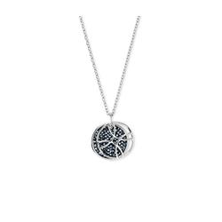 Tchibo - Kette verziert mit Swarovski® Kristallen - Silber