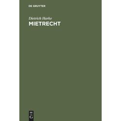Mietrecht als Buch von Dietrich Harke