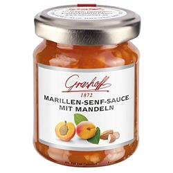 Grashoff - Marillen-Senf-Sauce mit Mandeln - 125ml