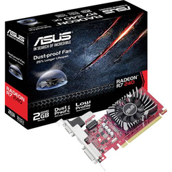Asus Grafikkarte AMD Radeon R7 240 2GB GDDR5-RAM PCIe x16 HDMI®, DVI, VGA