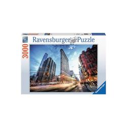 Ravensburger Puzzle Puzzle 3000 Teile, 121x80 cm, Flat Iron Building, Puzzleteile