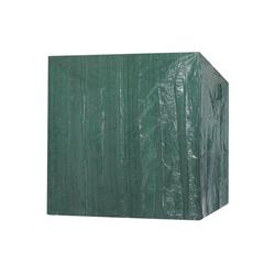 Kingsleeve Gartenmöbel-Schutzhülle Kingsleeve, Strandkorb 2 Reißverschlüsse 125 x 90 x 165 cm Wetterfest Wasserabweisend Strandkorbabdeckung Plane Abdeckung Abdeckhaube grün