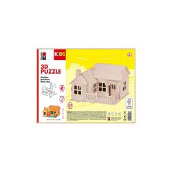 Marabu Holzbaukasten KIDS 3D Puzzle Strandhaus