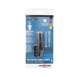 ANSMANN® LED Taschenlampe Ansmann M100F die taktische Taschenlampe mit stufe