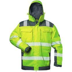 Warnschutz-Winterjacke 2in1 Stufe 3 Größe XL gelb, elysee