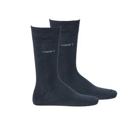 Joop! Kurzsocken Herren Socken 2 Paar, Basic Soft Cotton Sock blau 43-46 (9-11 UK)