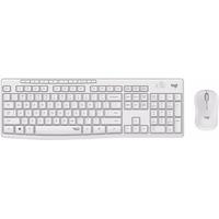 Logitech MK295 Silent - Tastatur-und-Maus-Set - kabellos - 2.4 GHz - Italienisch Weiß