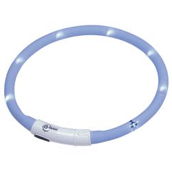 Nobby LED Lichtband Puppy hellblau