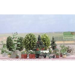 Busch 1211 H0 Blumen- und Pflanzkübel-Set Bausatz