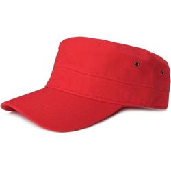 styleBREAKER Baseball Cap Cap im Military Stil Cap im Military Stil rot