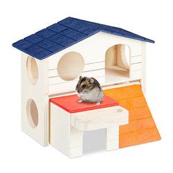 relaxdays Hamsterhaus   braun 17,0 x 16,5 x 15,0 cm