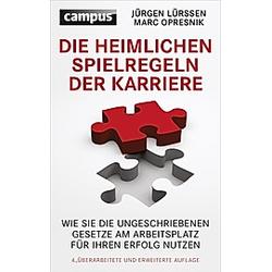 Lürssen, J: Die heimlichen Spielregeln der Karriere