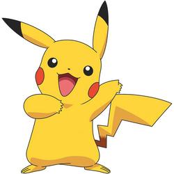 RoomMates Wandsticker Wandsticker Pokemon Pikachu Giant, 12-tlg.