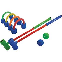 Soft Croquet Set blau/gelb