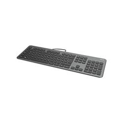 Hama KC-700 Tastatur (Slimline mit flüsterleisen Tasten) schwarz