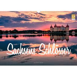 Sachsens Schlösser (Wandkalender 2021 DIN A3 quer)