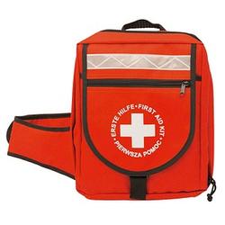 LEINA-WERKE Notfallrucksack ohne Füllung rot