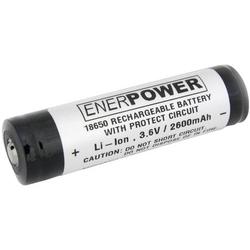 EnerDan UR18650F2,6AH5A-P Spezial-Akku 18650 Li-Ion 3.6V 2600 mAh