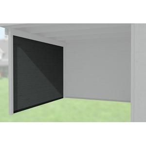 Weka Zubehör für Weka Designhaus 172/126 Seitenwand Tiefe 295 cm anthrazit 21 mm