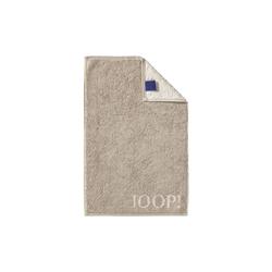 JOOP! Gästetuch Joop! Classic Doubleface in sand, 30 x 50 cm