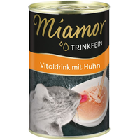 Miamor Trinkfein Vitaldrink mit Huhn 24 x 135 ml
