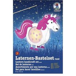 Laternen-Bastelset 3 'Einhorn'