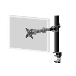 Einzel-Monitorarm für Displays bis 30