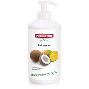 Pedibaehr Fußmaske Mango-Kokos mit Pumpe 500 ml