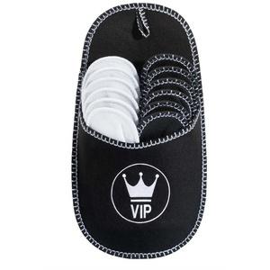 ONVAYA Premium Gästepantoffel VIP, 6er Set, Gästehausschuhe, Pantoffeln, Hausschuhe Pantoffel