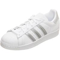 adidas Superstar Women's white-silver/ white, 39.5