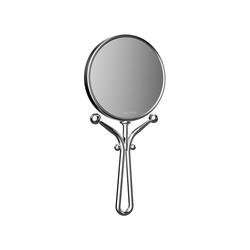 Frasco Rasierspiegel Hand-Reisespiegel, Ø 127 mm, 5-fach