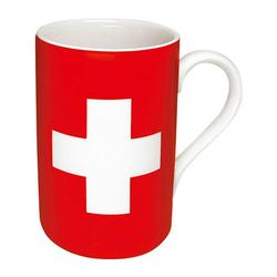Könitz Becher Flaggenbecher Schweizer Flagge 310 ml
