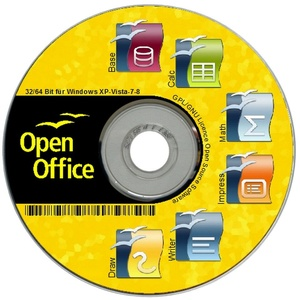 ✔ OPEN OFFICE 4.1.7  für Windows 10 7 8 XP VISTA BÜROSOFTWARE ersetzt Word Excel