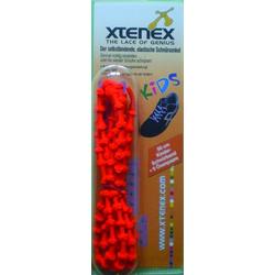 XTENEX Kids Schnürsenkel 50 cm rot