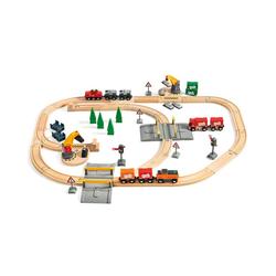 BRIO® Spielzeugeisenbahn-Set BRIO 33165 Großes Güterbahnhofset