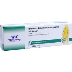 RHEUMA- & Muskelschmerzcreme Winthrop 100 g