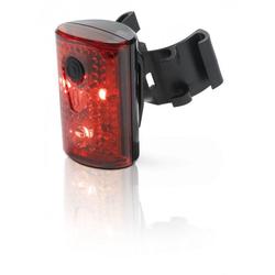 XLC Fahrradbeleuchtung XLC Comp Rückleuchte Pan rot CL-R14 mit StVZO für