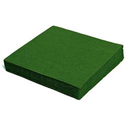 Servietten 33 x 33 cm 1/4 -Falz, 2-lagig dunkelgrün, 250 Stk.