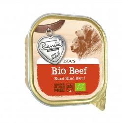 Renske Biologisches Frischfleisch mit Rind 300 Gramm Hundefutter Pro 9 Stück (9 x 300 Gramm)