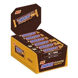 SNICKERS Creamy Peanut Butter Schokoriegel 24 Riegel