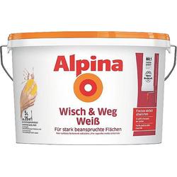 Alpina Farben Wandfarbe Wisch und Weg 559516 5l