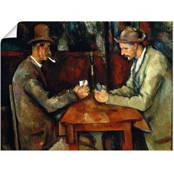 Artland Wandbild Stillleben mit Petunien, Stillleben (1 Stück) 60 cm x 45 cm