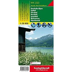 Freytag & Berndt Wander-  Rad- und Freizeitkarte Karnische Alpen - Gailtal - Gitschtal - Nassfeld - Lesachtal - Weissens - Buch