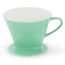 Friesland Porzellan Kaffeebereiter Friesland Kaffeefilter 102 Jade-Grün Porzellan