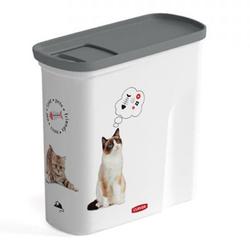 CURVER Pet-Futter-Container Futtercontainer Katze 2l