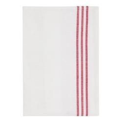 Morberg Geschirrtuch halbleinen 2-pack rot/weiß
