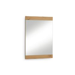 Voss Möbel Spiegel Levio aus Balkeneiche, 59 x 83 cm
